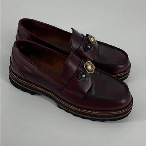 Coach Lenox Loafers Brown Size 7